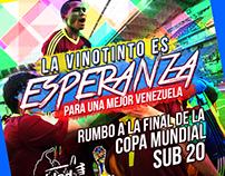 Flyer en apoyo a la FVF en el Mundial Sub-20 2017