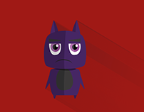 Flat Design - Monster