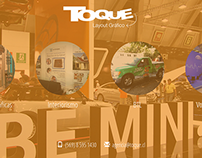 Landing page for toque.cl