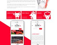 Escarnes (developed in Wordpress) Custom Design.