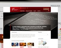 Site institucional (Be! Interactive - BCW Advogados)
