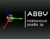 Portafolio Diseño 3D