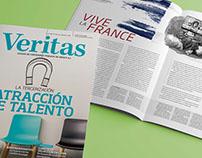 Revista Veritas. Diseño y gestión.