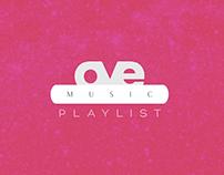 Oye Canal 7 - Oye Music Playlist - ID Animation - Space