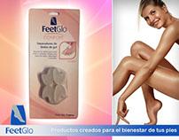 Flyers FeetGlo para RRSS