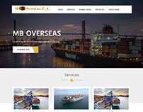 Landing page para mboverseasinc.com