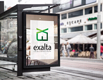 Branding and Graphic Design for Exalta Constructora