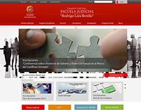 "Portal Web - Escuela Judicial ""Rodrigo Lara Bonilla"""