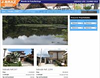 Construção do layout e progração de site