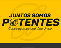 """Causa """"Juntos Somos Potentes"""" (Diseño de Logotipo)"""