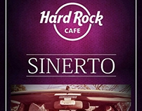 Afiches banda musical SINERTO