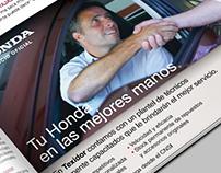 Publicidad Honda Texidor