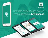 MyExpense - User Interface Mobile APP