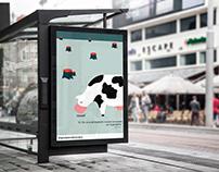 """Campaña Publicitaria """"La culpa es de la vaca"""""""