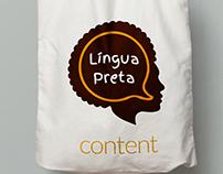 Língua Preta - Logo