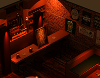 PUB - Low Poly