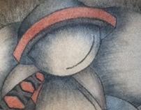 Pintura en Carboncillo