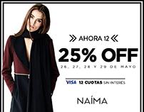 E-shop para NAIMA