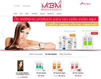 MBM Beleza e Estética - Ecommerce Completo