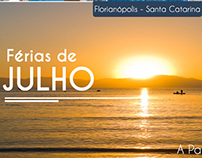 Newsletter Divulgação Pacote Férias de Julho