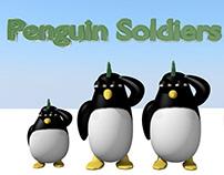 Arte Juego Penguin Soldiers