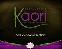 Publicidad Kaori Restaurante