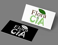 Logomarca Flora & CIA