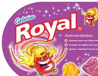 Mantel publicitario para Royal Venezuela