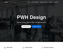 PWH Desgin Website