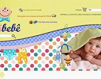 Site Roupas Infantis