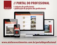 Portal do Profissional - Ateliê Revestimentos