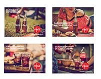 Coca Cola: Taste the feeling