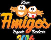 Logo - Bloco Amigos 2015/2016