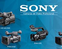 Banner de cámaras Sony- Tecnología HDV