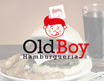 Redesign Old Boy Hamburgueria