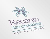 Recanto das Orquídeas   Logo Design