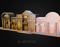 Modelado 3D - 3D Models - Portfolio - Part 1