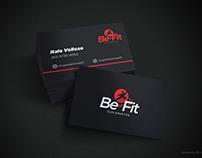 Be Fit Suplementos (Logotipo e cartão de visitas)