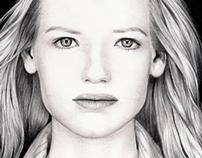 Realistics Portraits in lead Pencil (2011 -2012)
