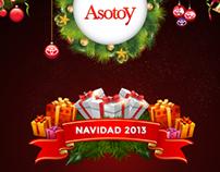 Tarjeta de Navidad ASOTOY 2013