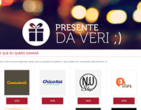 Presente da Veri - Projeto Pessoal   Personal Project