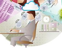 Ilustração para site TalentHouse