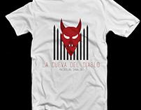La Cueva del Diablo - Shirt Design