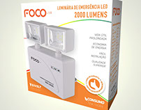 Embalagens Foco LED