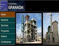 Sitio web para Contratistas Granada