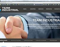 Página Web para Tecnología Ambiental e Industrial