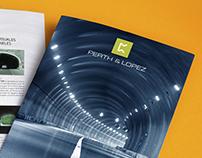 Identidad corporativa para Perth & Lopez