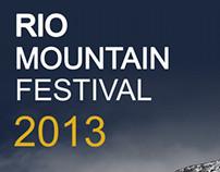 Rio Mountain Festival 2013 - Identidade Visual