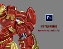 Iron Man in HulkBuster Suit