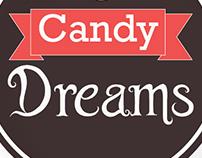 Criação de logo para loja de doces
